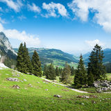 Mythen landscape Stock Photo