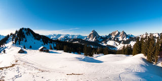 Mythen panorama Royalty Free Stock Images