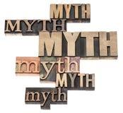 Mythen uttrycker abstrakt begrepp Royaltyfri Foto