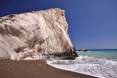 Mythical Aphrodite's Rock, Cyprus Royalty Free Stock Image