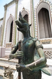 Mythical creature at Wat Phra Kaeo, Thailand Stock Photography