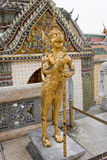 Mythical female bird with a human head. Temple of the Emerald Buddha (Wat Phra Kaew), Bangkok, Thailand Royalty Free Stock Photography