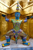 Mythical figure from the buddhist temple Royalty Free Stock Photo
