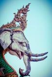 Mythical Flying Elephant. In thailand Royalty Free Stock Image