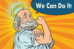 Mythical God we can do it Stock Image