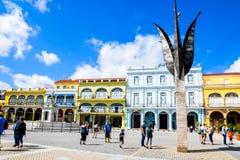 Beautiful Old havana. Mythical Old Havana in Cuba, architecture Stock Photos
