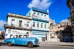 Beautiful Old havana. Mythical Old Havana in Cuba, architecture Royalty Free Stock Image