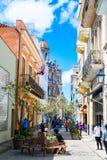 Beautiful Old havana. Mythical Old Havana in Cuba, calm street Royalty Free Stock Photos