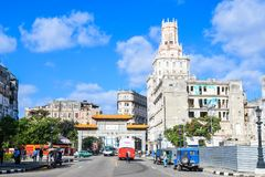 Beautiful Old havana. Mythical Old Havana in Cuba, china town Stock Images
