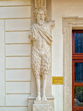 Mythical sculpture near the door of Nestor Palace, Bratislava Royalty Free Stock Photos
