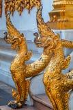 Mythical Sculpture at Wat Bovorn (Bowon) Nivet Viharn in Bangkok Stock Photo