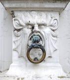 Mythical stone head Royalty Free Stock Image