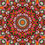 Mythical symbol kaleidoscope. For relax time Stock Photo