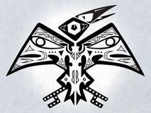 Mythische Vogel - Digitaal Kunstwerk Stock Afbeelding