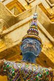 Blue Giant in Wat Phra Keaw Royalty Free Stock Photography