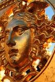 The mythological figure of Medusa Stock Image