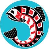 Mythological image Salmon Stock Image