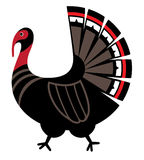 Mythological  image  Turkey Royalty Free Stock Photos