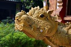 Mythological lizard Royalty Free Stock Image