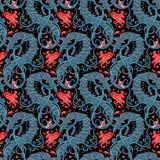 Mythological magic beast Basilisk, legendary bizarre creature. S Royalty Free Stock Image