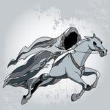 Mythological Nazgul. The series of mythological creatures Royalty Free Stock Photo