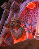 A Mythological Scene on the Strip Royalty Free Stock Images