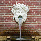 Mythological  sculpture fountain. Stock Photography