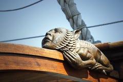 Mythological statue Royalty Free Stock Photos