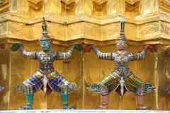 Mythological statues Royalty Free Stock Photos