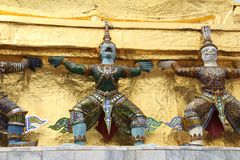 Mythological statues Royalty Free Stock Photography