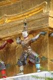 Mythological statues Stock Image