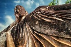 Mythologie et statues religieuses au parc de Wat Xieng Khuan Buddha laos photographie stock