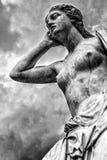 Mythologie grecque : Andromache Photos stock