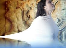Mythologie grecque de Musa Photographie stock libre de droits