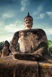 Mythologie und religiöse Statuen an Wat Xieng Khuan Buddha-Park laos Stockfotografie