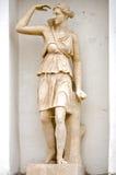 Mythologie van Aphrodite van het beeldhouwwerk de oude Griekse. stock fotografie