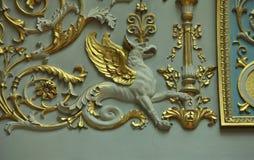 Mythologisches Geschöpf Gryphon Lizenzfreie Stockbilder