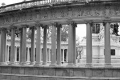 Mythology build. Photo of old mythology build Stock Images