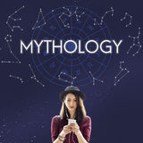 Mythology Cosmos Universe Star Concept Royalty Free Stock Photography