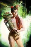 Mythology nymph Royalty Free Stock Image