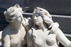 Mythology womans - vienna Stock Image