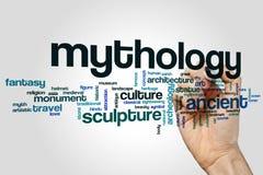 Mythology word cloud Stock Photo