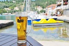 Mythos-Bier, Paxos stockbild