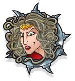 Myths: Medusa Royalty Free Stock Photography