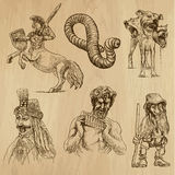Myths and Monsters, pack 2 Stock Photos