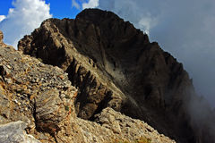 Mytikas peak on Mount Olympus Stock Photography