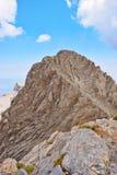 Mytikas szczyt, Olympus Fotografia Stock
