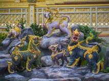 Mytiska varelser av Himvanta Arkivbild