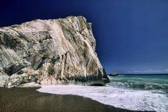 Mytiskt vagga av aphroditen, Cypern arkivfoton