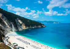 Mytros plaża Fotografia Stock
